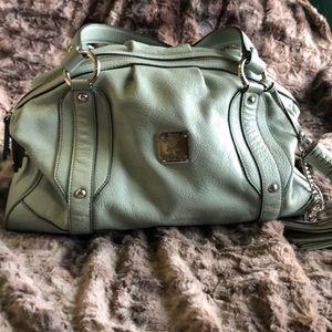 MCM Saffiano Leather Authentic tote bag